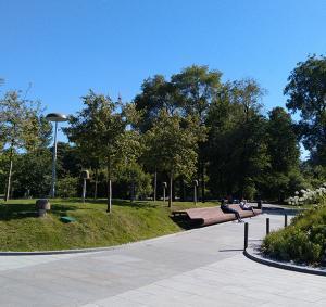 Сквер Тургенева